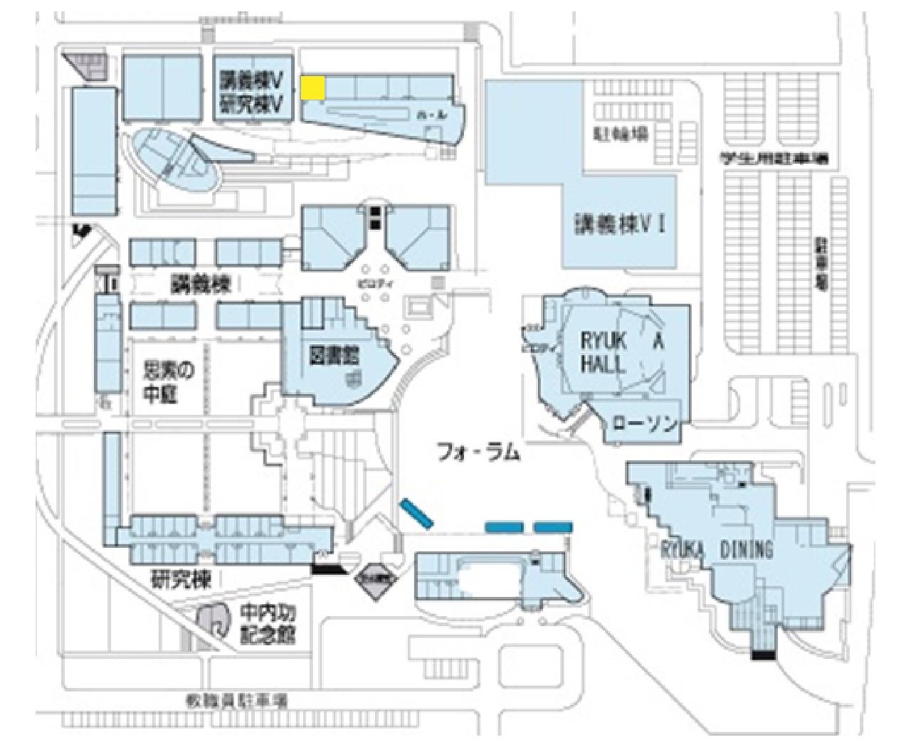 学生支援室 地図