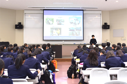 高校への出張講義(高校生イメージ)