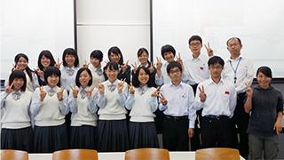【高大連携事業】相生産業高校 商品開発中間発表会を実施しました。のサムネイル