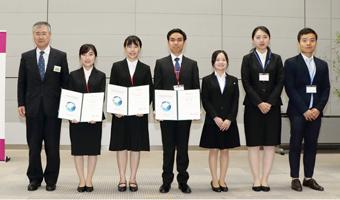 私費留学生対象奨学金「イオン スカラシップ」認定証授与式のサムネイル