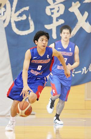 男子バスケットボール部 松浦さん 国体兵庫県選抜チームに選出のサムネイル