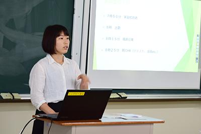 教職課程履修者による教育実習報告会を実施のサムネイル