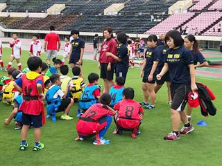 兵庫県ラグビー協会主催U12ラグビー教室に神戸RYUKAが参加のサムネイル
