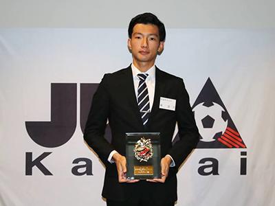 2018年度「関西学生サッカーアウォーズ」フェアプレー賞を受賞のサムネイル