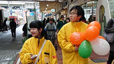 高大連携 神戸野田高等学校の生徒と献血ボランティアに参加のサムネイル