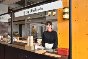 学内にカフェオープン! 2019年春に会社設立!