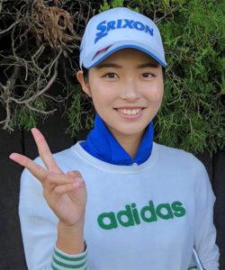 3年連続でギャラリー 沸かす 女子ゴルフ部・安本美咲