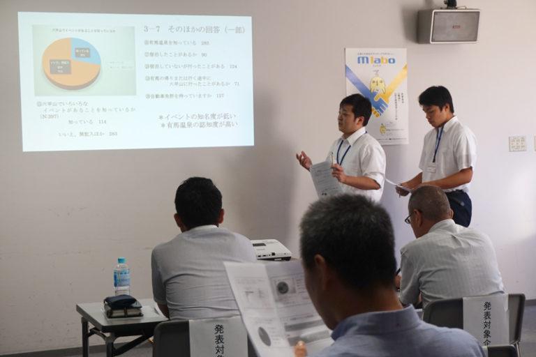 Mラボ『課題解決ラボ2019』の中間発表会に本学生が参加!のサムネイル
