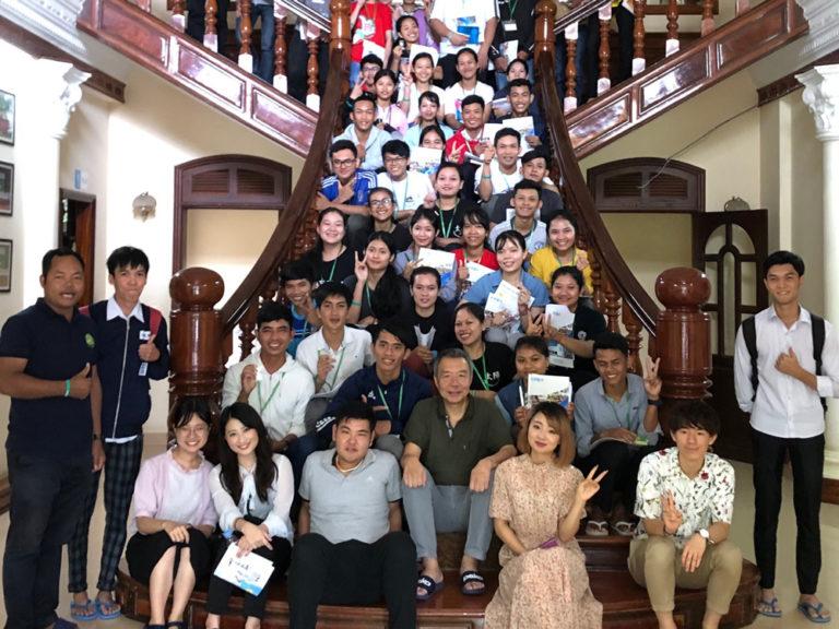 カンボジアの【タヤマビジネススクール】で出会った『日本の心』のサムネイル
