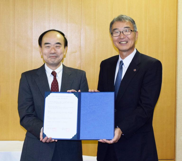 篠山産業高校と高大連携を図る協定を締結しましたのサムネイル