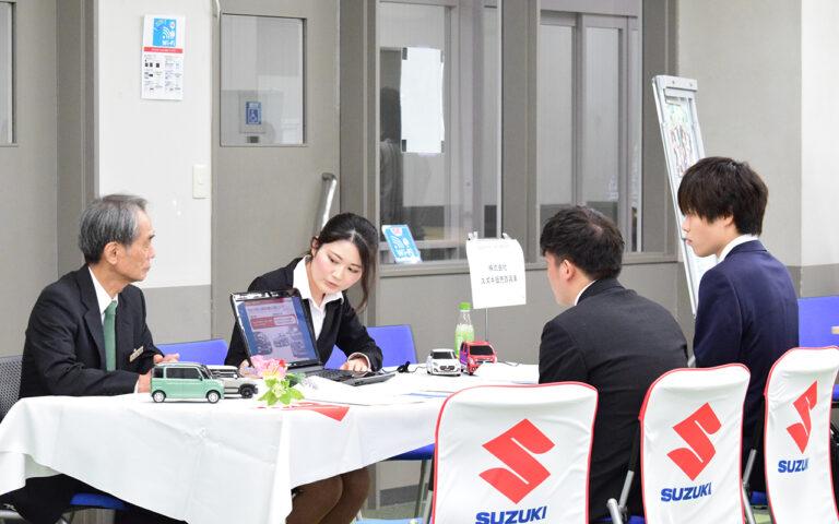 卒業生も多数活躍する企業が集結。『学内企業説明会』を開催のサムネイル