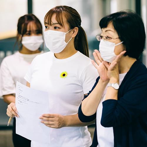 岡部奈鶴女さん(人間社会学部観光学科3年)