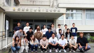 川合ゼミ生が高校生の授業をサポート!