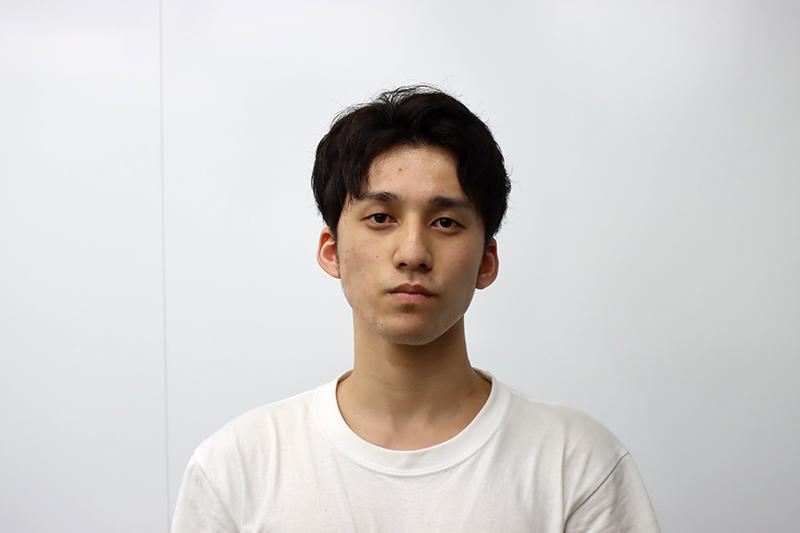 都築 新さん(商学部経営学科 3年)