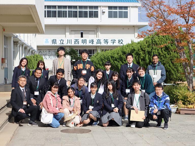 本学留学生が、高校の『校内留学体験』で国際交流!のサムネイル