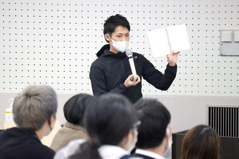 コロナ禍ならではの実習体験も。『教育実習報告会』を実施のサムネイル