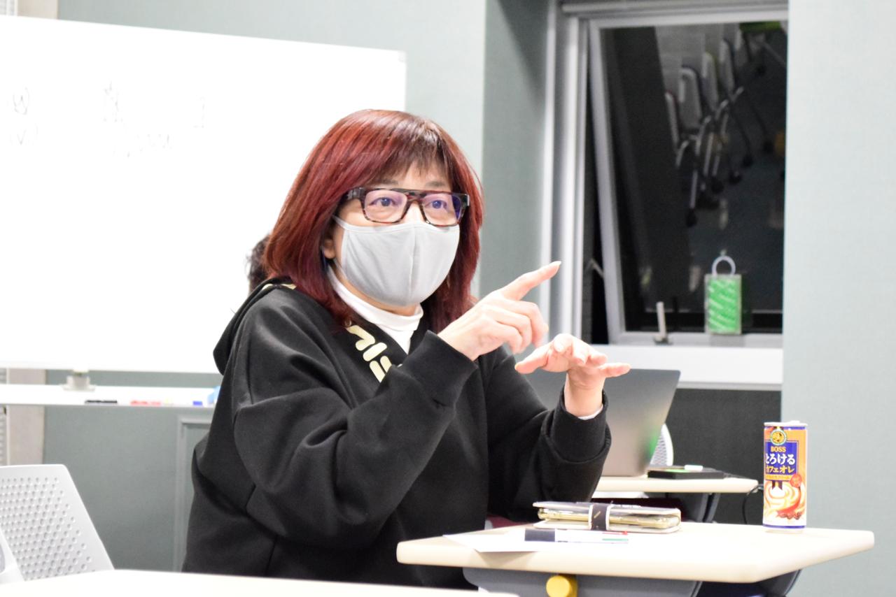 ジャパン・フィルムコミッション顧問の田中まこ特別教授