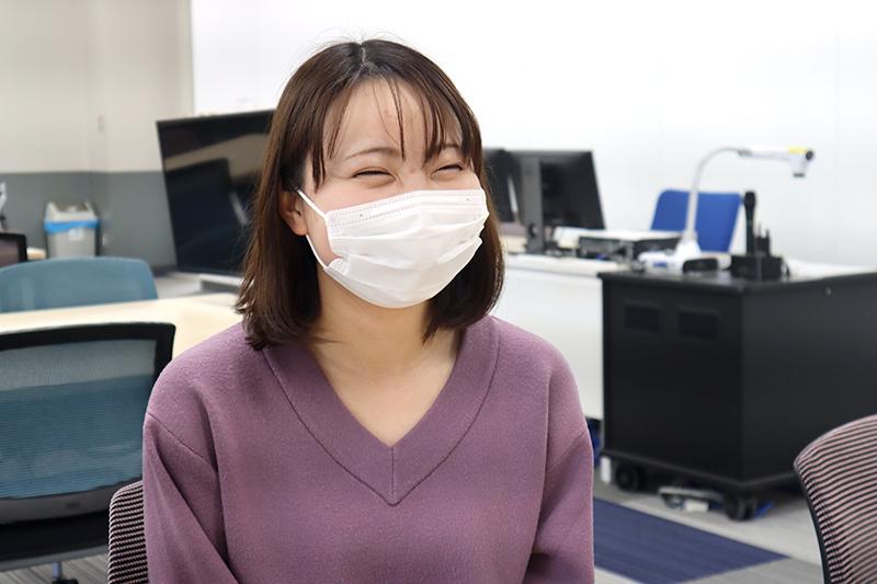 橋本 弥沙さん(商学部マーケティング学科2年)