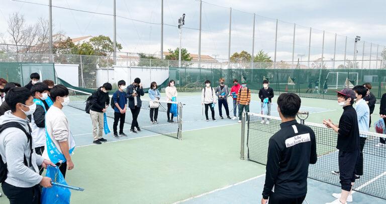 学内外への貢献活動として、体育会クラブ独自の清掃活動がスタート!のサムネイル