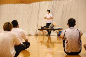体育会系クラブの学生のケガ防止を『ストレッチ講座』でサポート!