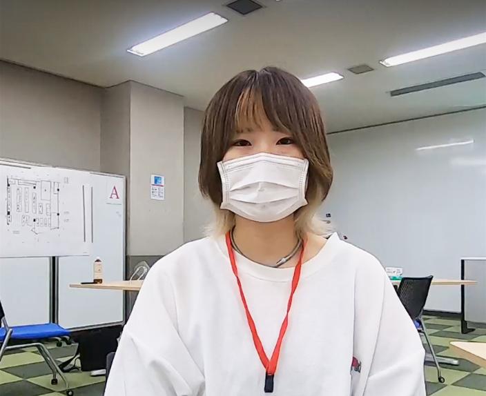 元岡みゆきさん(商学部経営学科2年)